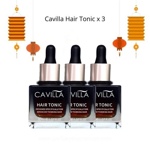 Cavilla Hair Tonic 3x Hair Tonic