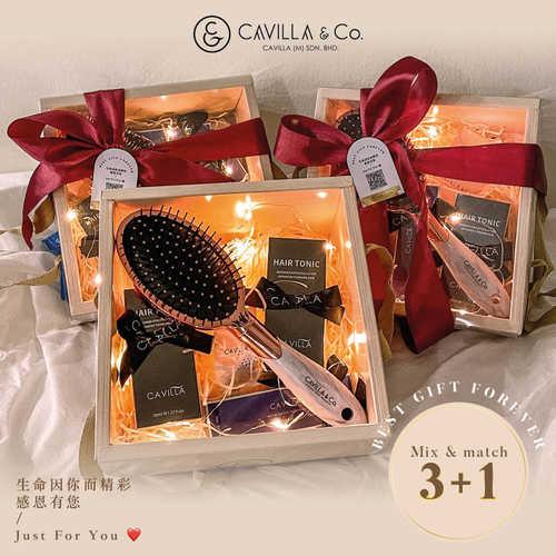 1xeyelash, 2x Hair Tonic + FOC Gift Set