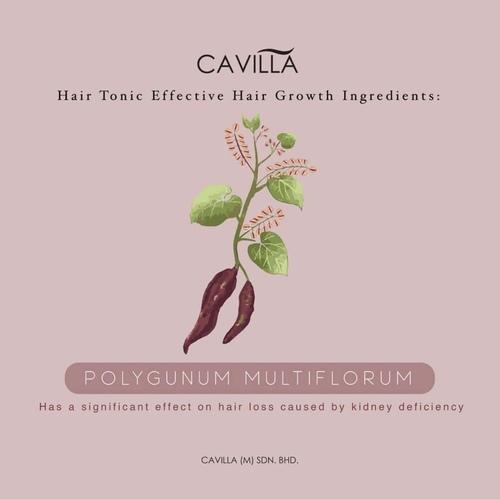 Cavilla Hair Tonic 2x Hair Tonic Value Pack