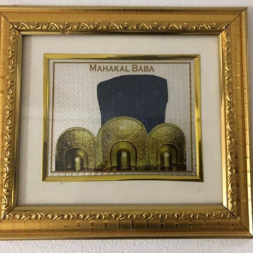 Mahakal Baba Frame Hallmark Silver