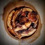 Cured Smoked Pork