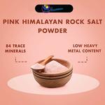 Pink Himalayan Rock Salt Powder