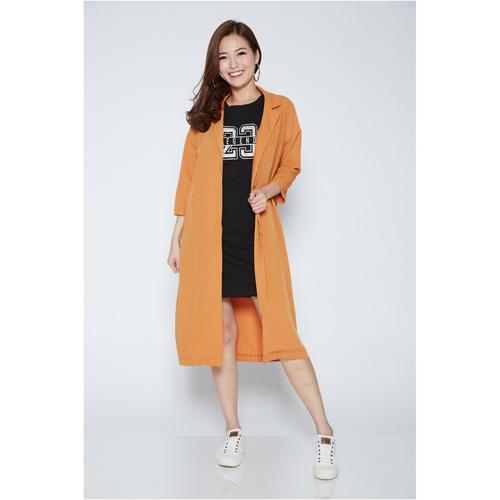 3/4 Sleeved Long Coat