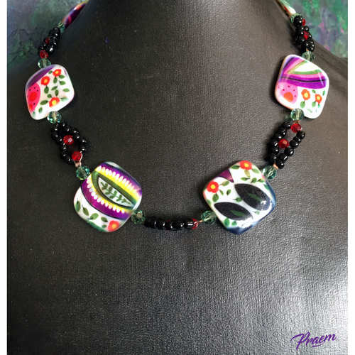 My Garden Beauty fashion necklace