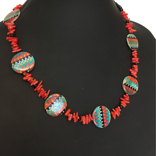 Tribal Instincts fashion necklace