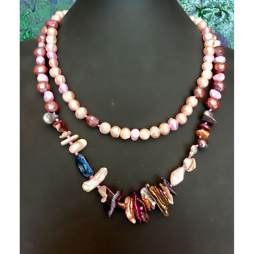 Rainbow of Freshwater Pearls