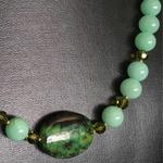 Wearable Art in Green