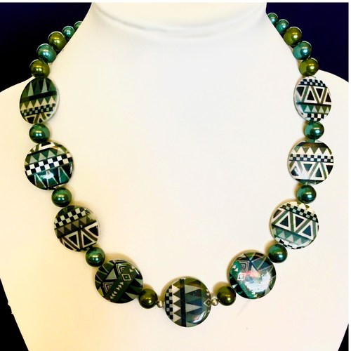 Simple Elegance of Geometry fashion necklace