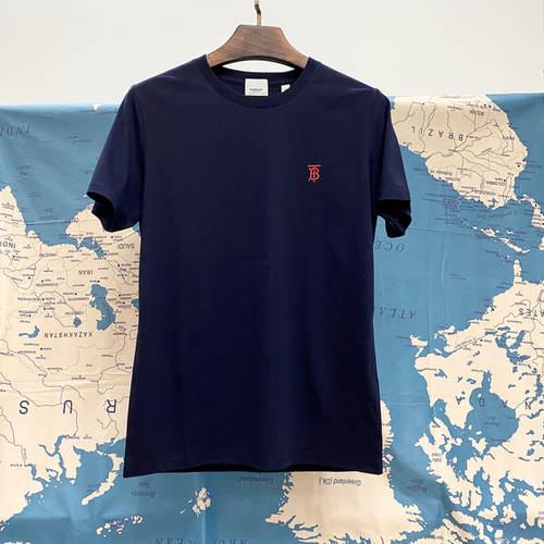 Burberry Monogram Motif Cotton T Shirt