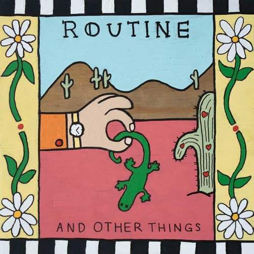 ROUTINE - And Other Things 12EP Coke Bottle Clear Vinyl
