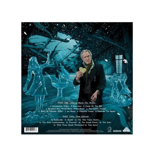 DANNY ELFMAN - Edward Scissorhands 30th Anniversary Deluxe Original Motion Picture Soundtrack LP Blue Vinyl