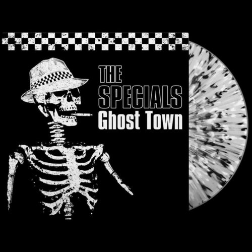 THE SPECIALS - Ghost Town LP Splatter vinyl