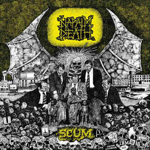 NAPALM DEATH - Scum LP