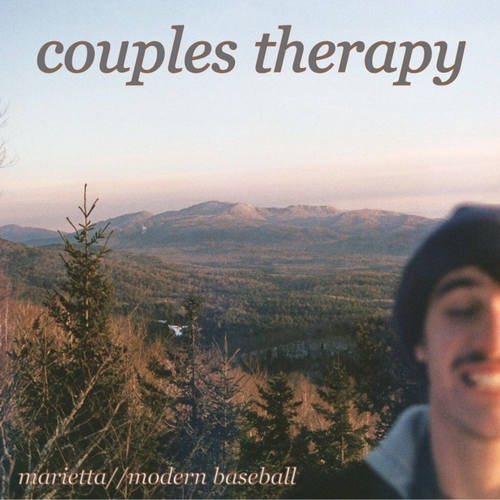 "MODERN BASEBALL / MARIETTA - Couples Therapy: Split 7"" (Green Vinyl)"