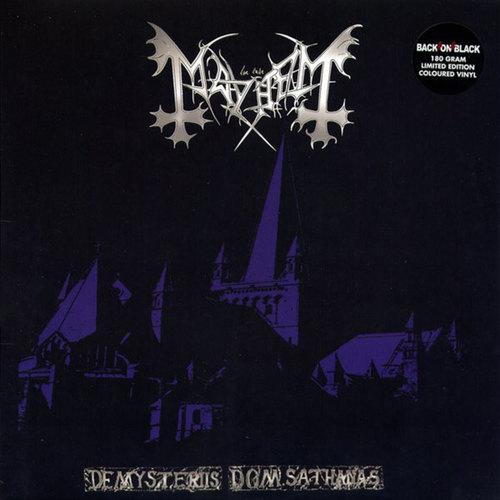 MAYHEM - De Mysteriis Dom Sathanas LP 180gram Color vinyl