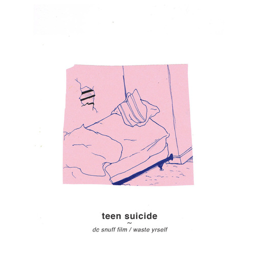 TEEN SUICIDE - DC Snuff Film  Waste Yrself LP