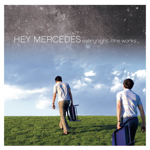 HEY MERCEDES - Everynight Fire Works 2xLP Clear with Green, Blue and White Splatter Vinyl
