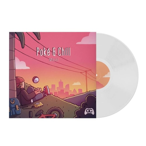 MIKEL - Poke & Chill LP White Vinyl