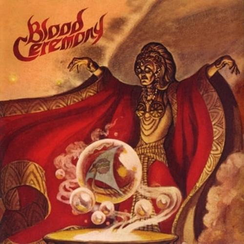 BLOOD CEREMONY - Blood Ceremony LP Gold Sparkle vinyl