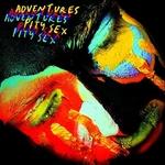 """PITY SEX / ADVENTURES - Split 7"""" (Black/White Splatter Vinyl)"""