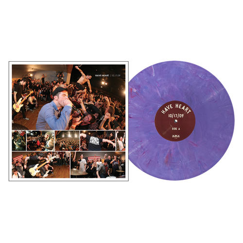 HAVE HEART - 10.17.09 LP Purple Marble vinyl