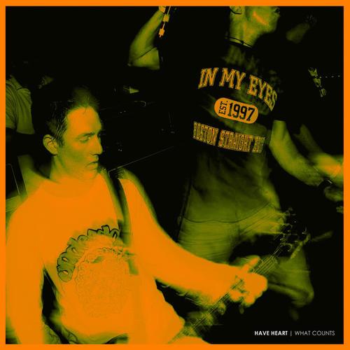 HAVE HEART - What Counts Reissue 12EP OrangeWhite Vinyl