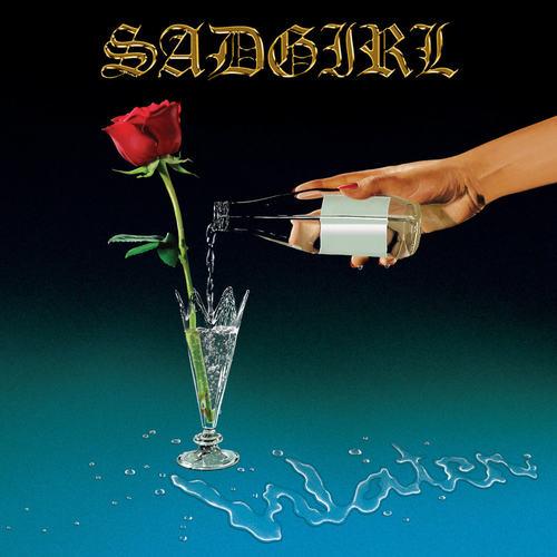 SADGIRL - Water LP (Cyan Blue w/ White Splatter Vinyl)