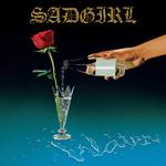SADGIRL - Water LP Cyan Blue w White Splatter Vinyl