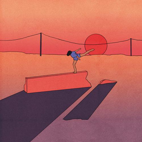 JAY SOM - Anak Ko LP Red w Orange & Pink Splatter Vinyl