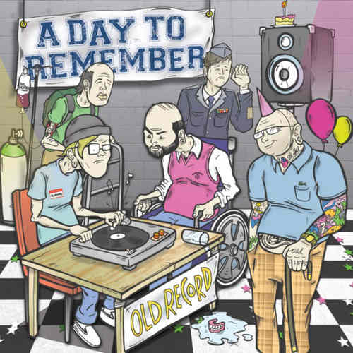 A DAY TO REMEMBER - Old Record LP