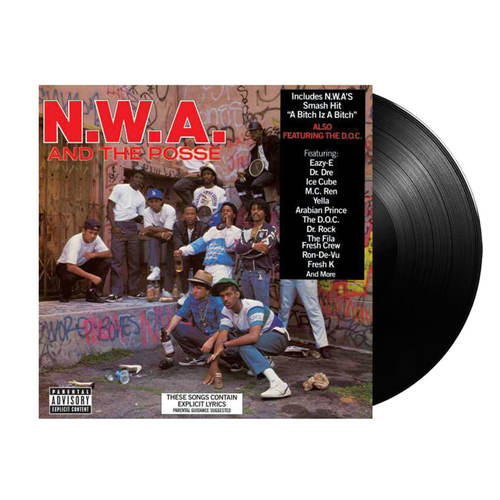 N.W.A. & THE POSSE - Self-Titled LP