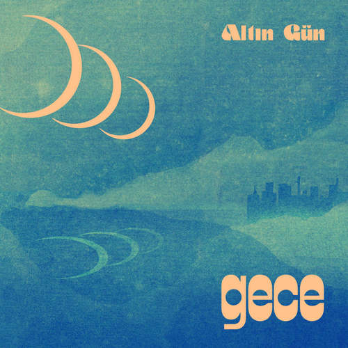 ALTIN GUN - Gece LP Summer Sky Wave Eco Blue vinyl