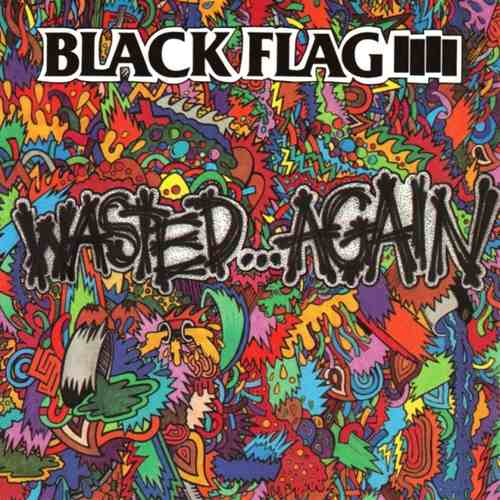 BACK FLAG - Wasted... Again LP