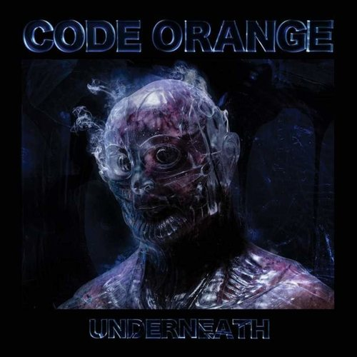 CODE ORANGE - Underneath LP BlueBlack Translucent Galaxy vinyl