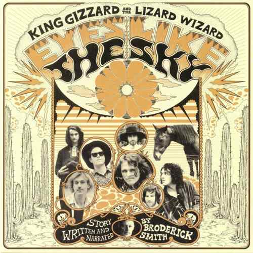 KING GIZZARD AND THE LIZARD WIZARD - Eyes Like The Sky LP Orange vinyl