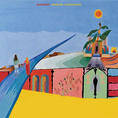 BASEMENT - Promise Everything LP Green  White Mix Vinyl