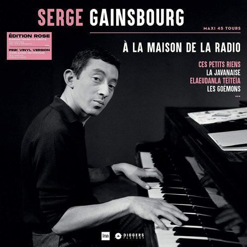 SERGE GAINSBOURG - A La Maison De La Radio LP (Pink Vinyl)