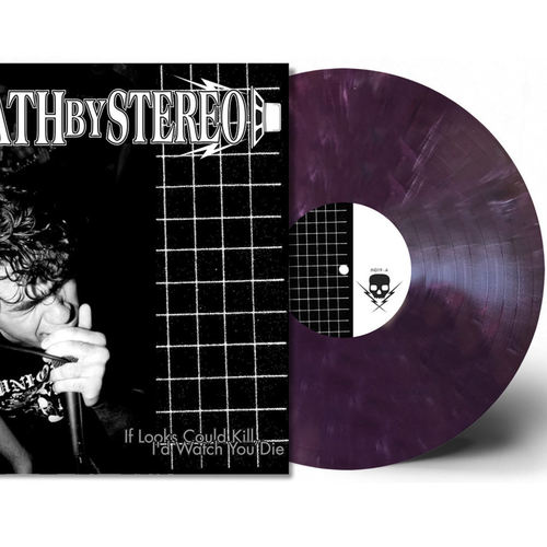 DEATH BY STEREO - If Looks Could Kill, Id Watch You Die LP Colour Vinyl