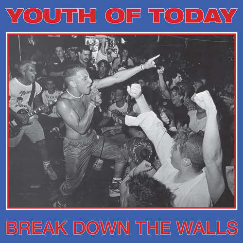 YOUTH OF TODAY - Break Down The Walls LP Gold Vinyl