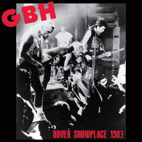 G.B.H. - Dover Showplace 1983 LP (Red Vinyl)