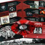 IMPIETY -  Vengeance Hell Immemorial LP Red with Black Splatter vinyl