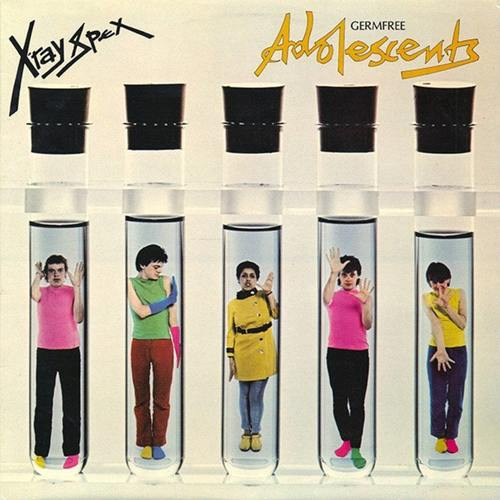 X-RAY SPEX - Germfree Adolescents LP Color Vinyl