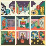 STRFKR - Future Past Life LP Orange Vinyl
