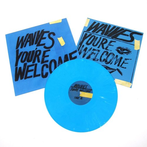 WAVVES - You're Welcome LP (Blue Vinyl)