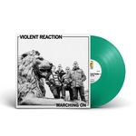 VIOLENT REACTION - Marching On LP Green Vinyl