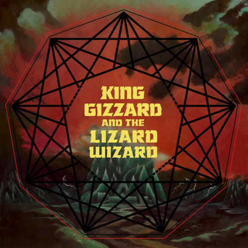 KING GIZZARD AND THE LIZARD WIZARD - Nonagon Infinity LP BlackGreen Splatter vinyl