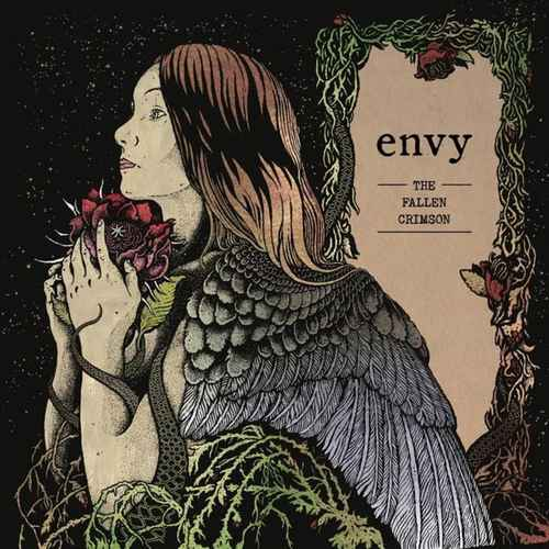 ENVY - Fallen Crimson 2xLP Metallic Sand & Deep Crimson color vinyl