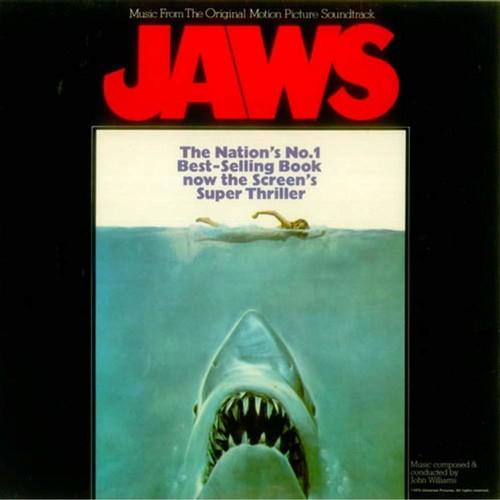 JOHN WILLIAMS - Jaws Original Motion Picture Score LP