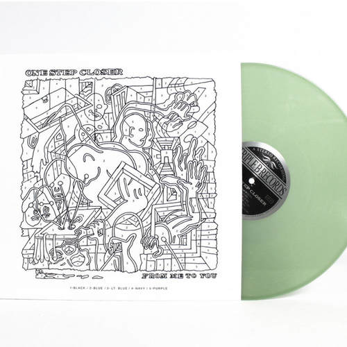 ONE STEP CLOSER - From Me To You 12 Coke Bottle Clear vinyl