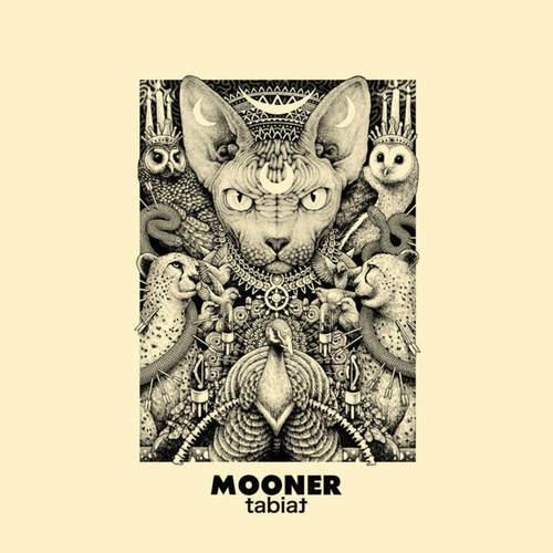 MOONER - Tabiat LP Clear Color-in-Color vinyl